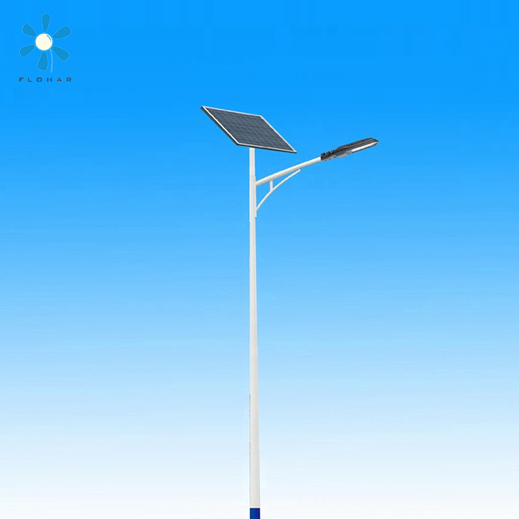 Smart light High quality 60W aluminium led integrated solar street lighting housing price
